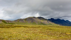 Iceland Mountains Royalty Free Stock Photo