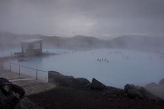 Iceland: Myvatn Nature Baths Stock Photo