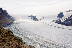 iceland n p skaftafell skaftafellsjokull Obraz Stock