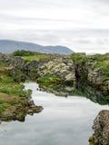 Iceland. National Park Pingvellir in Iceland Stock Photos