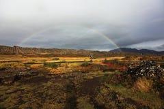 iceland nationalpark royaltyfri fotografi