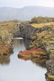 iceland nationalpark arkivbild