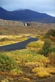 iceland nationalpark arkivfoto