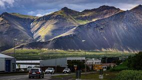Iceland nature - landscape on Snæfellsnes Peninsula stock images