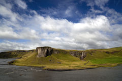 Iceland nature and landscapes traveling Stock Images