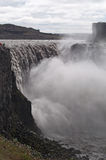 Iceland, Northern Europe, Dettifoss, waterfall, nature, power, climate change stock photo