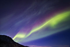 Iceland. Northern lights aurora holiday Royalty Free Stock Images