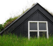 Iceland old house Royalty Free Stock Images
