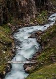 Iceland, północno-wschodni reigion Obrazy Royalty Free