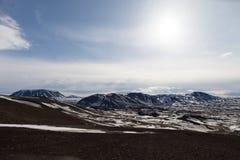 Iceland północny pustkowie Zdjęcia Royalty Free
