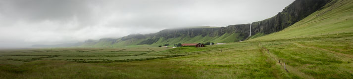 Iceland panorama Zdjęcia Royalty Free
