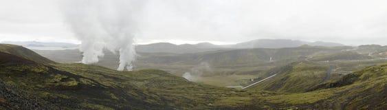 Iceland panorama stock image