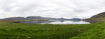 Iceland panorama Royalty Free Stock Photography