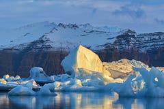 Iceland, Piękny arktyczny krajobraz, natura Zdjęcie Royalty Free