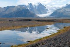 iceland reflexioner royaltyfri bild