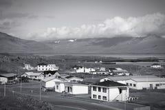Iceland retro Stock Image