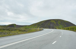 Iceland ring road Royalty Free Stock Image