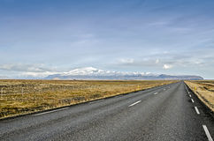 Iceland ring road Stock Image