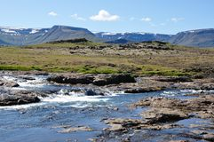 Iceland-River Royalty Free Stock Photo