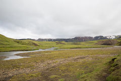 Iceland river Royalty Free Stock Images