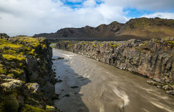 Iceland river Stock Image