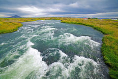 Iceland River Royalty Free Stock Image