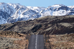 Iceland road Royalty Free Stock Photos