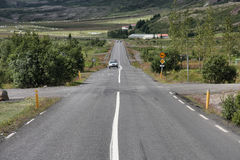 Iceland road Royalty Free Stock Photo