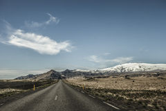 Iceland Road Stock Image