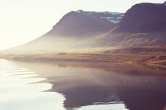 Iceland. Rough Arctic terrain of Iceland Royalty Free Stock Photo
