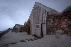 Iceland Rustic House Royalty Free Stock Photos