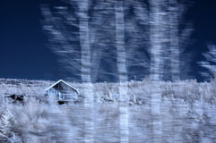 Iceland Rustic House Royalty Free Stock Image