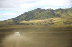 iceland safari arkivfoton