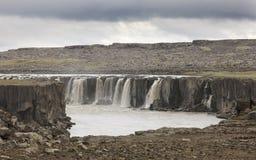 Iceland. Selfoss waterfall. Jokulsargljufur National Park. Royalty Free Stock Images