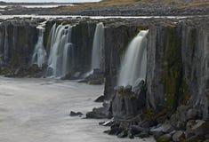 iceland selfossvattenfall royaltyfri foto