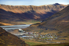 Iceland - Seydisfjordur Stock Images