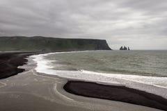 Iceland shoreline Stock Photography