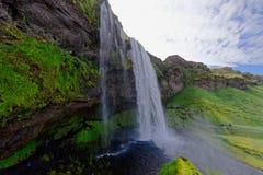 Iceland siklawa zdjęcia royalty free