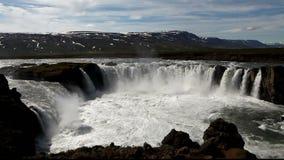 Iceland siklawa - Godafoss Fotografia Royalty Free