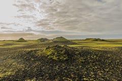Iceland - Skaftáreldahraun Stock Image