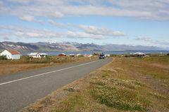 Iceland - Snaefellsnes. Snaefellsnes peninsula, Iceland - small town of Arnarstapi stock photography