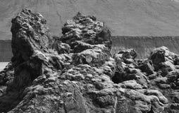 Iceland. South area. Fjallabak. Lava landscape. Stock Photography