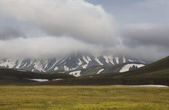 Iceland. South area. Fjallabak. Volcanic landscape. Royalty Free Stock Photography