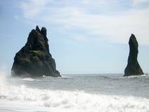 Iceland. South Coast Beach Vik Royalty Free Stock Photography