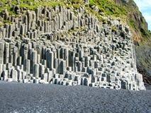 Iceland. South Coast Beach Vik Royalty Free Stock Images
