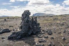Iceland stone Royalty Free Stock Images