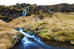 Iceland stream Royalty Free Stock Image