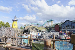 Iceland themed area - Europa Park in Rust, Germany Royalty Free Stock Photo