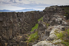 Iceland: Thingvellir national park Royalty Free Stock Image