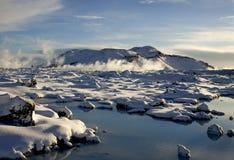 iceland tidvinter Royaltyfria Foton